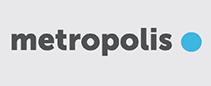 Metropolis logo. Link to website: https://www.metropolis.org/