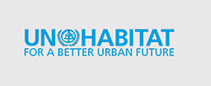 UN-Habitat logo. Link to website: https://unhabitat.org/